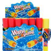 "144 Units of 8""L x 1.5""D CLEAR WATER PUMP IN 24PC DISPLAY BOX"