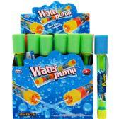 "144 Units of 10.5""L x 1.5""D CLEAR WATER PUMP IN 24PC DISPLAY BOX"