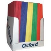 100 Units of OXFORD Twin Pocket Folders- asst. colors - Folders and Report Covers