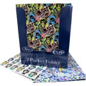 48 Units of 2 Pockets folders-Urban designs - Folders and Report Covers