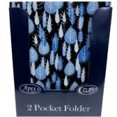 48 Units of 2 Pockets Folders - Classic Designs - Folders and Report Covers