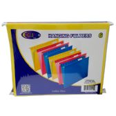 12 Units of 6 Pack Hanging Folders