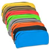 96 Units of Roll Pencil Case - 8 colors - Pencil Boxes & Pouches