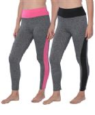 36 Units of Wholesale Women's Leggings in Assorted Colors and Sizes