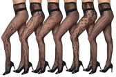 48 Units of One SIze Women's Fishnet Tights - Womens Pantyhose