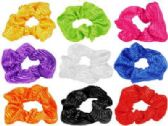 72 Units of Bright color Hair Scrunchies - Hair Scrunchies