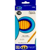 80 Units of #2 Pencils, 10Pk. in a box, sharpened