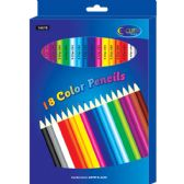 48 Units of Coloring Pencils, 18 count - Boxed