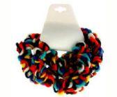 72 Units of Multi-color yarn scrunchie - Hair Scrunchies