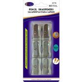 48 Units of Metal sharpeners, 6pk.