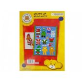 144 Units of Build-A-Bear Christmas Dress-Up Magnets