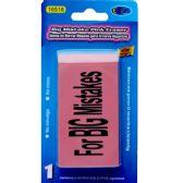 48 Units of Big Mistake Pink Eraser - 1 pack - Erasers