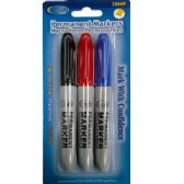 48 Units of Jumbo Permanent Marker, Broad Tip, 3 Pk.