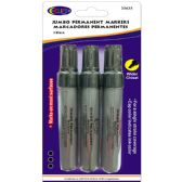 24 Units of Jumbo Permanent Markers - Black - Markers and Highlighters