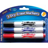 48 Units of Whiteboard markers, 3 Pk. - Markers and Highlighters