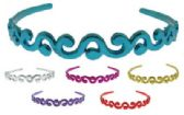 72 Units of Assorted multi-color acrylic headband