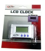 72 Units of LCD Clock with Alarm with Battery