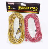 144 Units of Wholesale 2 pc Set Bungee Cord