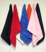 72 Units of Standard Quality Jumbo Size Hemmed Ends Fingertip Towels 15 x 18 Black