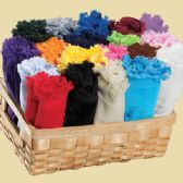 72 Units of Deluxe Fringed Fingertip Towels - Embroidery Quality 11 x 18 Beige