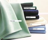 8 Units of Premium Vellux by Westpoint Home Blankets Twin 72 x 90 Hunter Green - Fleece Blankets / Throws