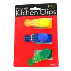 72 Units of Magnetic kitchen clips - Refrigerator Magnets