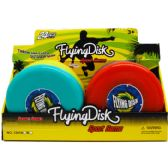 """144 Units of 8"""" FLYING DISK IN 24PC DISPLAY BOX, ASSRT COLORS"""