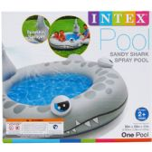 6 Units of SANDY SHARK SPRAY POOL, AGE 2+, IN COLOR BOX - Summer Toys