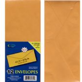 "48 Units of Clasp Envelopes, 4.5""x 10 3/4"", 12 Pk. - Envelopes"
