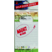 36 Units of SS SHOPPING LIST 50 SHTS - Sticky Note & Notepads