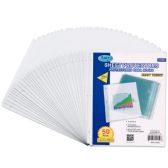 48 Units of Heavy duty sheet protectors, 50 ct.