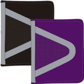 "12 Units of Zipper binder 1.5"", 14""x11 3/4"", navy, black and purple - Clipboards and Binders"
