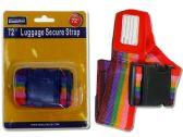 72 Units of Multicolored Luggage Strap