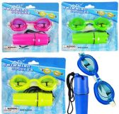 48 Units of Tinted Panoramic Swimming Goggles w/ Money Holder