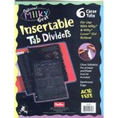 48 Units of MILKY GEAR Tear dividers - Tab Dividers