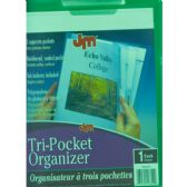 50 Units of Centis Tri Pocket Organizer - Tab Dividers