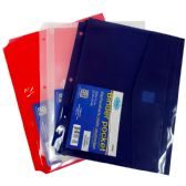 48 Units of Binder pockets, 3 holes - Tab Dividers