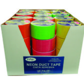 "48 Units of Duct Tape - Assorted 4 NEON colors - 1.89""(2"") x 10 yards - Tape"