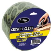 "48 Units of Packing Tape, Crystal Clear, 1.89"" x 45 Yds"