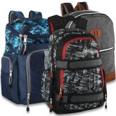24 Units of Varsity Backpack Assortment - 3 Styles