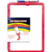 48 Units of Dry Erase Board With Marker, 8.5 x 11 - MEMO/NOTES/DRY ERASE