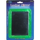 48 Units of Magnetic Locker Mirror- Assorted Colors