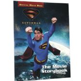 48 Units of SUPERMAN RETURNS The Movie Storybook - Licensed School Supplies