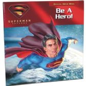 "48 Units of SUPERMAN RETURNS ""Be A Hero"" Official Movie book - Licensed School Supplies"
