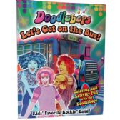 """48 Units of """"Let's Get on the Bus"""" Coloring and Activity Book - Dictionary & Educational Books"""