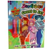 "36 Units of ""Doodlebops"" - count to 10 - coloring book - Coloring & Activity Books"