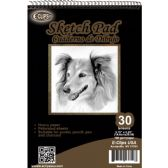 "36 Units of 30 Sheet Sketch Pad - 5.75"" X 8.25"" - Sketch, Tracing, Drawing & Doodle Pads"