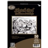 "12 Units of 30 Sheet Sketch Pad - 11.75"" X 16.5"" - Sketch, Tracing, Drawing & Doodle Pads"