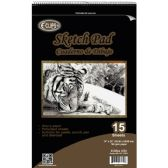 "12 Units of 15 Sheet Sketch Pad - 14"" X 22"" - Sketch, Tracing, Drawing & Doodle Pads"