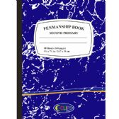 72 Units of Penmanship books, second primary, blue